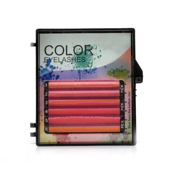 Rzęsy Kolorowe Volume
