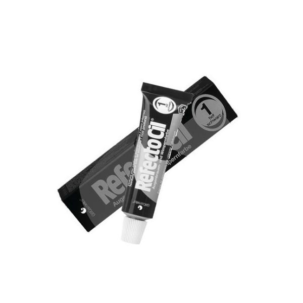1.0 Czarna - RefectoCil Henna do brwi i rzęs