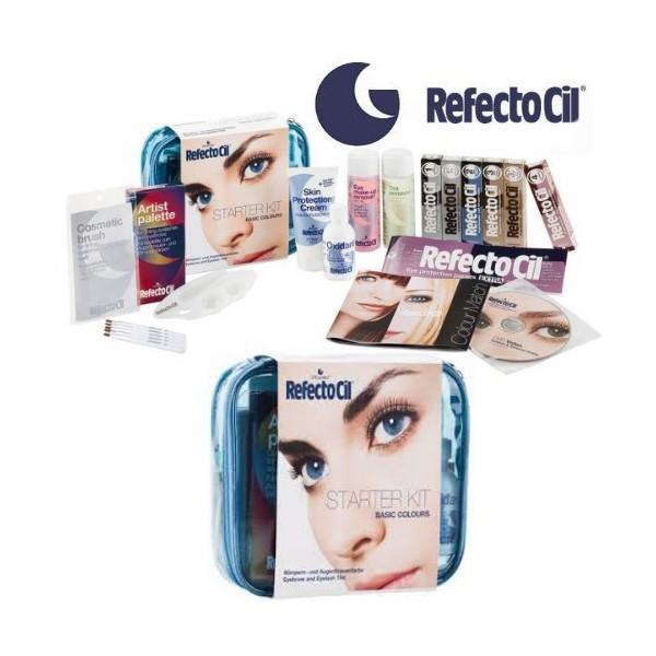 RefectoCil zestaw startowy do henny brwi i rzęs.