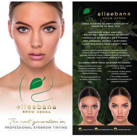 Ulotki Elleebana dla klientek