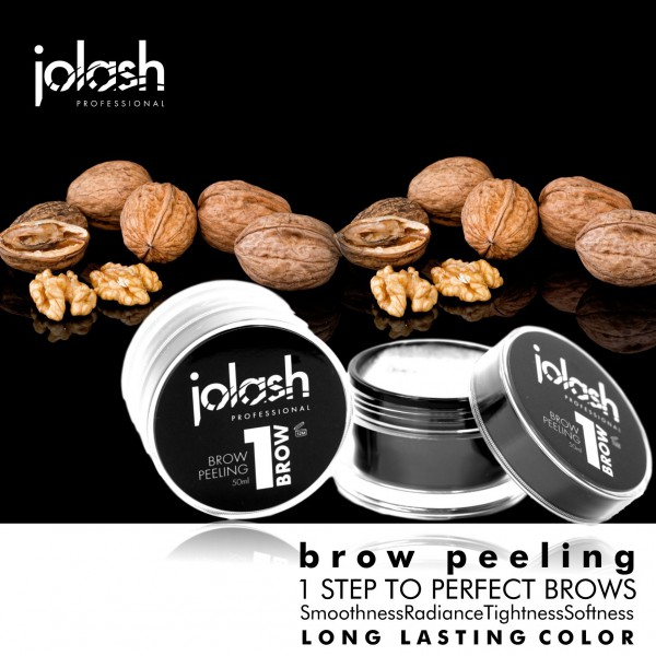 Peeling do brwi