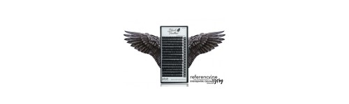 Mink Lashes - Black Feather